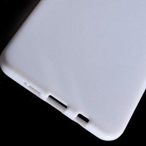 Силиконовый чехол для Samsung Galaxy A9 (2016) - Глянцевый Белый