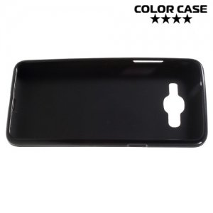 Силиконовый чехол для Samsung Galaxy J2 Prime - Матовый Черный