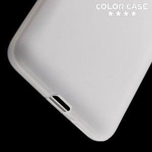 Силиконовый чехол для Samsung Galaxy J2 Prime - Матовый Белый