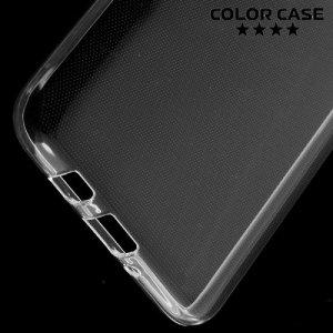 Силиконовый чехол для Samsung Galaxy J5 2016 SM-J510 - Глянцевый Прозрачный