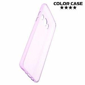 Силиконовый чехол для Samsung Galaxy J5 2016 SM-J510 - Глянцевый Фиолетовый