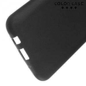 Силиконовый чехол для Samsung Galaxy J5 - Матовый Черный