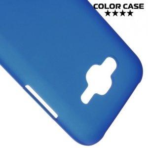 Силиконовый чехол для Samsung Galaxy J5 - Матовый Синий