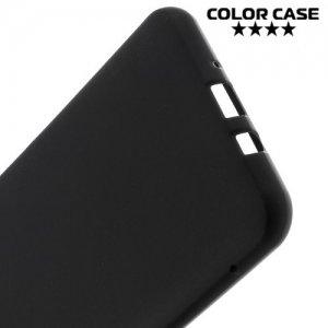 Силиконовый чехол для Samsung Galaxy J7 2016 SM-J710F - Матовый Черный