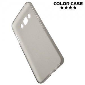 Силиконовый чехол для Samsung Galaxy J7 2016 SM-J710F - Матовый Серый