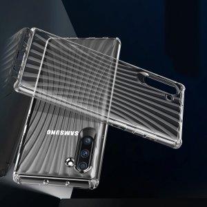 Силиконовый чехол для Samsung Galaxy Note 10 - Прозрачный