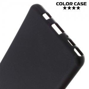 Силиконовый чехол для Samsung Galaxy Note 7 - Матовый Черный