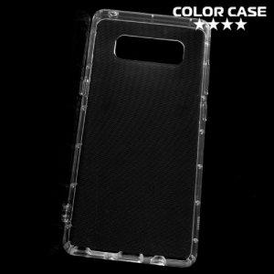 Силиконовый чехол для Samsung Galaxy Note 8 противоударный - Прозрачный
