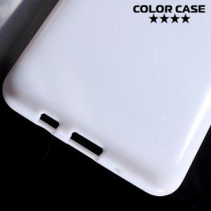 Силиконовый чехол для Samsung Galaxy On5 - Глянцевый Белый