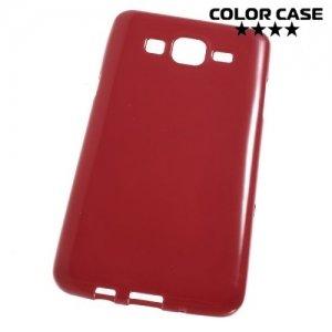 Силиконовый чехол для Samsung Galaxy On5 - Глянцевый Красный