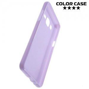 Силиконовый чехол для Samsung Galaxy On5 - Глянцевый Фиолетовый