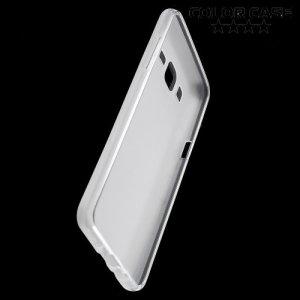 Силиконовый чехол для Samsung Galaxy On5 - Матовый Белый