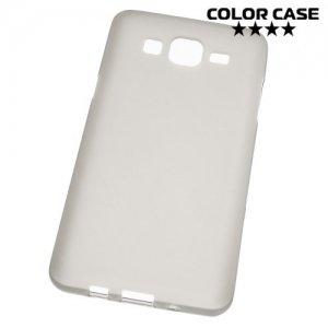Силиконовый чехол для Samsung Galaxy On5 - Матовый Серый