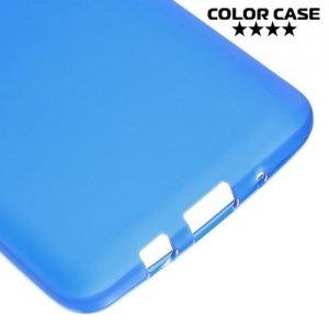 Силиконовый чехол для Samsung Galaxy On5 - Матовый Синий