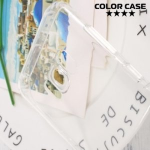 Силиконовый чехол для Samsung Galaxy S8 Plus противоударный - Прозрачный