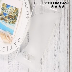 Силиконовый чехол для Samsung Galaxy S8 Plus - S-образный Прозрачный