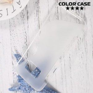 Силиконовый чехол для Samsung Galaxy S8 - S-образный Прозрачный