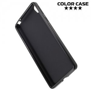 Силиконовый чехол для Sony Xperia E5 F3311 - Матовый Черный