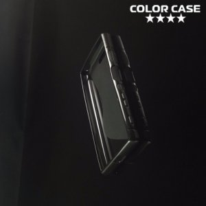 Силиконовый чехол для Sony Xperia X Compact - S-образный Черный