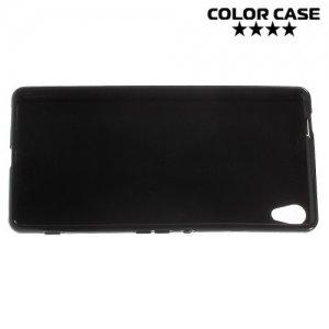 Силиконовый чехол для Sony Xperia XA Ultra - Глянцевый Черный