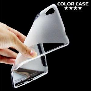Силиконовый чехол для Sony Xperia XA Ultra - S-образный Прозрачный