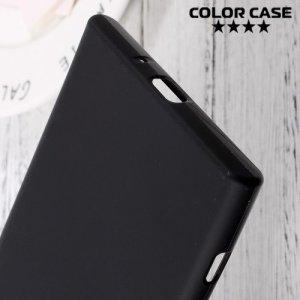 Силиконовый чехол для Sony Xperia XZ Premium - Матовый Черный