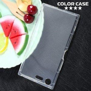 Силиконовый чехол для Sony Xperia XZ Premium противоударный - Прозрачный