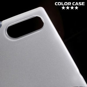 Силиконовый чехол для Sony Xperia XZ / XZs - S-образный Прозрачный