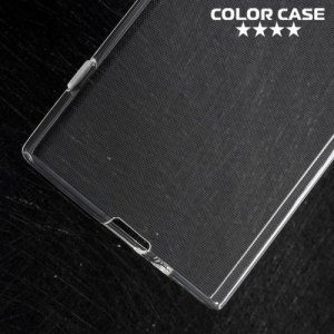 Силиконовый чехол для Sony Xperia XZ1 - Глянцевый Прозрачный