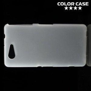 Силиконовый чехол для Sony Xperia Z3 Compact D5803 - Матовый Белый