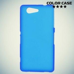 Силиконовый чехол для Sony Xperia Z3 Compact D5803 - Матовый Синий
