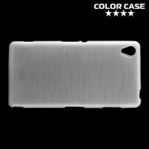 Силиконовый чехол для Sony Xperia Z3 - Глянцевый Белый