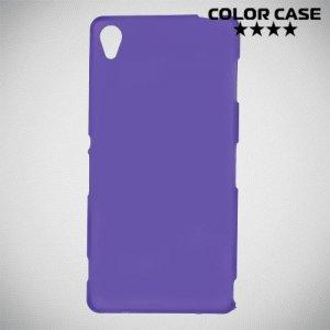 Силиконовый чехол для Sony Xperia Z3 - Матовый Фиолетовый
