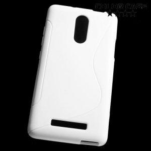 Силиконовый чехол для Xiaomi Redmi Note 3 - S-образный Белый