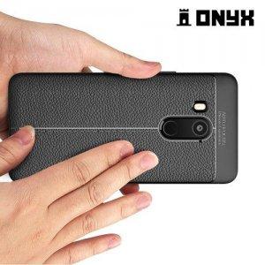 Силиконовый чехол под кожу для HTC U11 EYEs - Черный