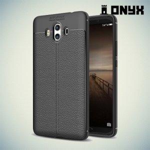 Силиконовый чехол под кожу для Huawei Mate 10 - Черный
