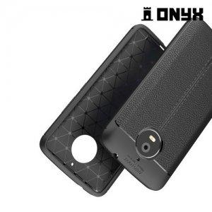 Силиконовый чехол под кожу для Moto E4 Plus - Черный