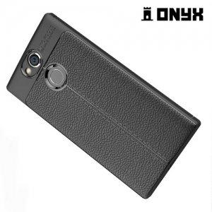 Силиконовый чехол под кожу для Sony Xperia XA2 - Черный