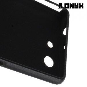 Силиконовый чехол под кожу для Sony Xperia Z3 Compact D5803 - с рисунком Яркие узоры Глаз гора