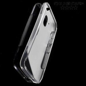 Силиконовый чехол для HTC Desire 526 и 526g+ dual sim - Прозрачный