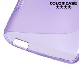 Силиконовый чехол для HTC Desire 626 / 628 - Фиолетовый