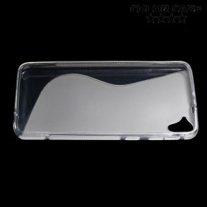 Силиконовый чехол для HTC Desire 826 dual sim - Прозрачный