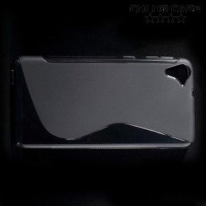 Силиконовый чехол для HTC Desire 826 dual sim - Серый