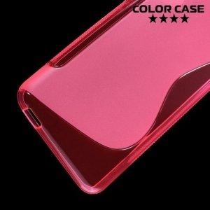 Силиконовый чехол для HTC Desire 826 dual sim - Розовый