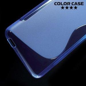 Силиконовый чехол для HTC Desire 826 dual sim - Синий