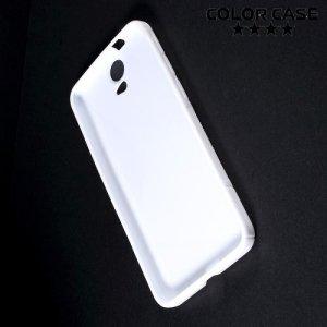 Силиконовый чехол для HTC One E9 Plus S-образный - Белый