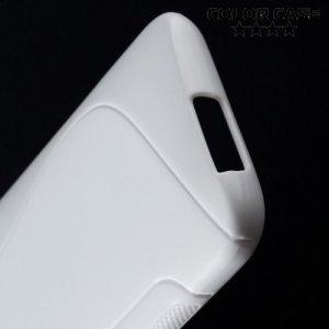 Силиконовый чехол для HTC One M9 - Белый