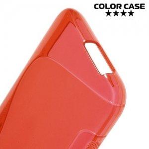 Силиконовый чехол для HTC One M9 - Красный