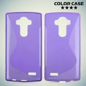 Силиконовый чехол для LG G4 ColorCase - Фиолетовый