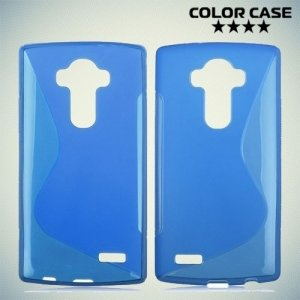 Силиконовый чехол для LG G4 ColorCase - Синий